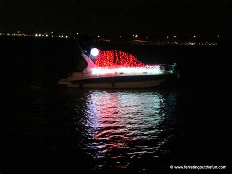 Christmas in DC: Holiday Boat Parade of Lights - Ferreting