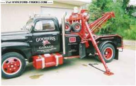 Cool 1950 F6 Wrecker for sale on Craigslist - Ford Truck