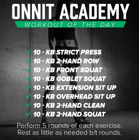 Workout of the Day #43 - Kettlebell Workout (With images