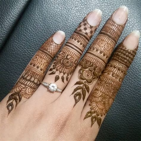 Always wanted to try doing tiny detailed henna designs on