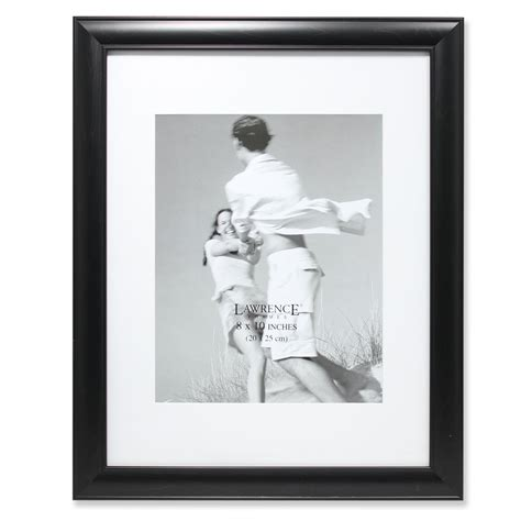 11x14 Black Gallery Frame Matted to 8x10 | PhotoFrames
