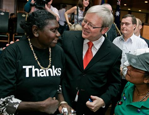 Kevin Rudd on apology: 'The time has come to revisit