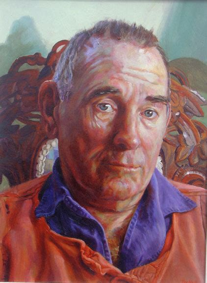 Portrait painting tuition Cornwall Painting Holidays Tim Hall