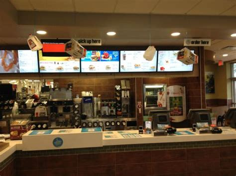 Counter and menu - Picture of McDonald's, Havelock