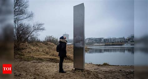 Monoliths: Mystery metal monolith pops up, this time in