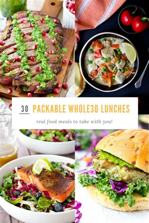 30 Packable Whole30 Lunch Ideas for School or Work   A