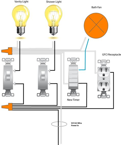 Replacing a Bath Fan Switch - Electronic Timing Device