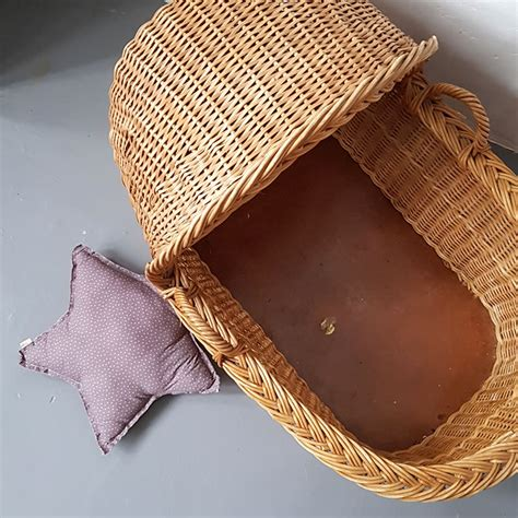 Vintage Wicker Bassinet | | Old is the new new