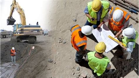 Duties of Civil Engineer Working on Building Construction Site