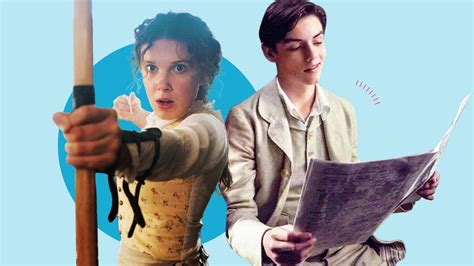 Enola Holmes Cast Interview: Millie Bobby Brown And Louis