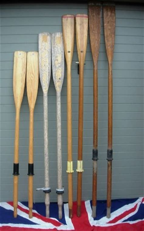 VINTAGE AND ANTIQUE ROWING OARS