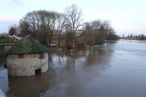Pictures: Here's the river in York city centre today