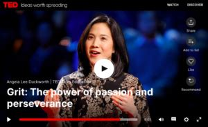Grit: The power of passion and perseverance, Angela Lee