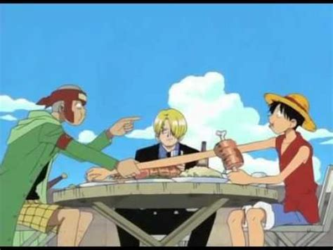 Luffy Stealing Food - YouTube