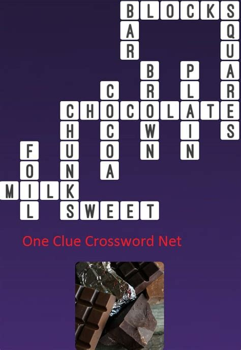 Chocolate Bar - Get Answers for One Clue Crossword Now