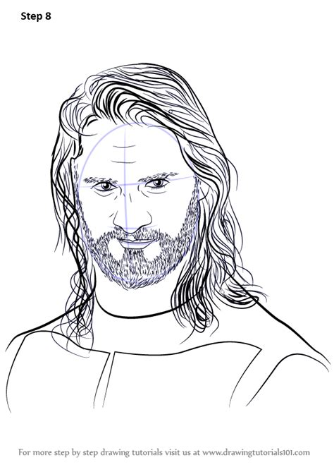 Learn How to Draw Seth Rollins (Wrestlers) Step by Step