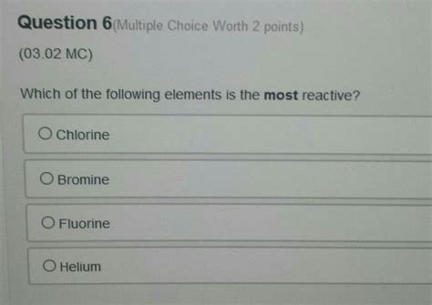 Where Are The Most Reactive Metals On Periodic Table