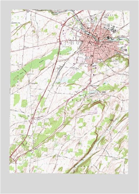 Watertown, NY Topographic Map - TopoQuest